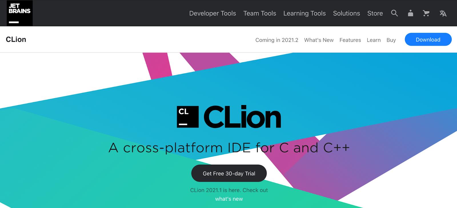 best c++ ide option jetbrains clion